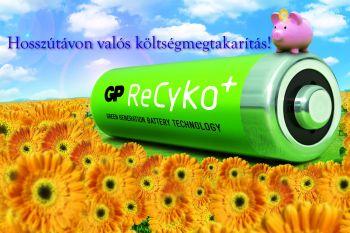 GP ReCyko+ Az új akkumulátor technológia