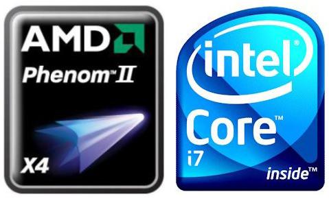 AMD Intel processzor