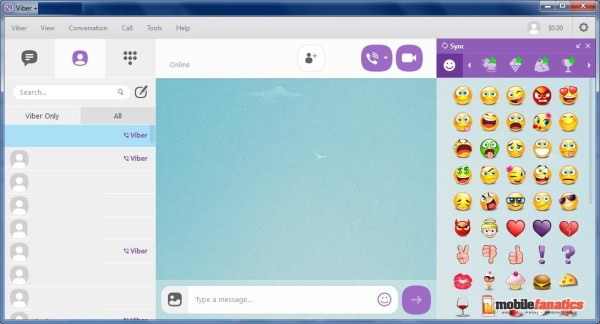 Ingyenes üzenetküldés a Viber alkalmazással